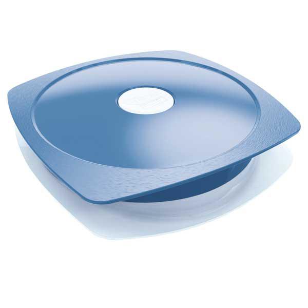 Piatto Lunch Box Picnik Adults - con coperchio - blu - Maped Foto prodotto