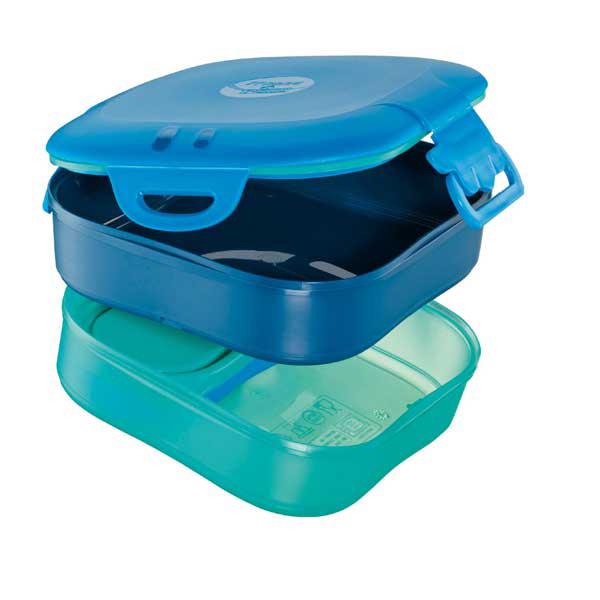 Lunch box 3 in 1 Picnik Concept - blu - Maped Foto prodotto