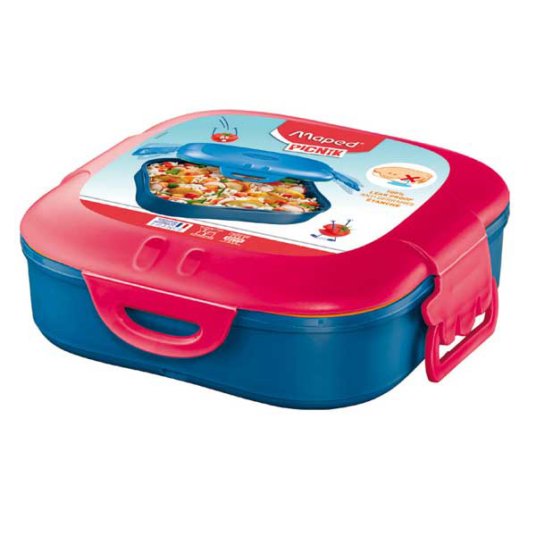 Lunch box Picnick Concept - 1 scompartimento - rosa corallo - Maped Foto prodotto